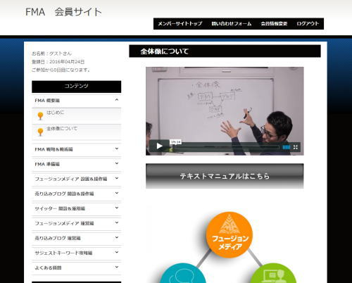 フュージョンメディアアカデミーFMA(大西良幸)レビュー2