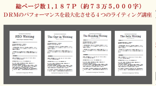 Copywriting Archive the teaching Program教材マニュアル